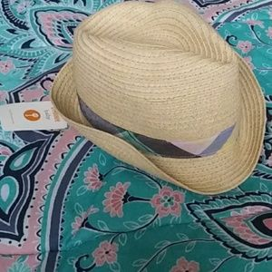 Gymboree Straw Top Hat